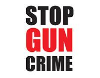 Stop Gun Crime Poster