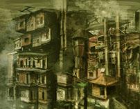 Documentary Concept Art: The Shantytown