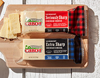 Cabot Cheese Rebrand