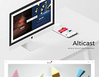 Alticast Web Renewal Draft Design