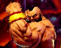"ZANGIEF ""The Red Cyclone"""