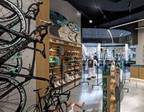 Дизайн-проект магазина велосипедов и спортивных товаров