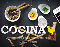 COCINA APP - The kitchen lovers app.