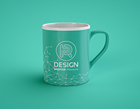 Free PSD mock-up of a classic coffee mug