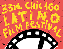 33rd Chicago Latino Film Festival – official poster