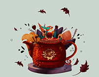Teapot for Khotwoh