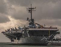 """USS Lexington """"The Blue Ghost"""""""