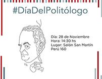 Día del Politólogo- Event