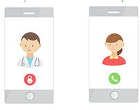 E-clinic Doctors app - Onboarding