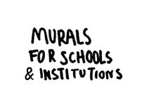Murals / Workshops for schools & Institutions