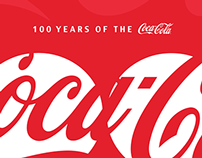 100 Years of the Coca-Cola / Logo