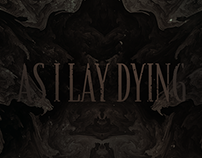 As I Lay Dying Tour Poster