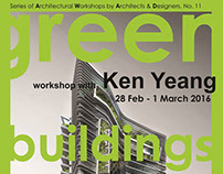 Workshop by Ken Yeang at Ajman University