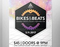 Bike/EDM Festival Identity