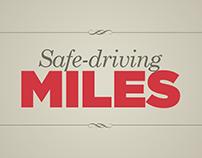 Banorte Insurances. Safe-driving Miles