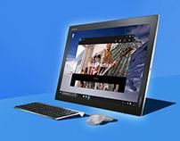 Lenovo: Yoga Product Website