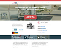 Appliance Repair: WordPress Website