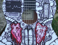 "Guitar Drawing ""Anatomy of Sound"""