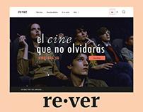 Rever - Plataforma de cine en línea