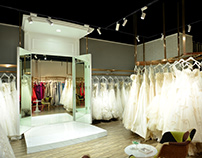 Wedding shop lighting