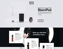 Webdesign for Stempod
