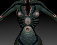 Parasitic Spider Lady Sculpt