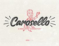 Carosello Handwritten Vintage Font