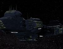 "Nave espacial ""Calipso_1"", rumbo a Andrómeda"