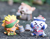 Dotakins Mini Figures for Valve