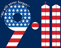 9/11 High School Program Shirt Design