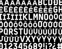 BM Daniel – typeface for Baemin Vietnam