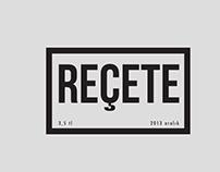 REÇETE Magazine