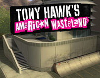 Tony Hawk's American Wasteland (2005) Enviro Art