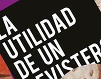 CINE / La utilidad de un revistero/ Diseño Poster