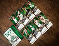 Celtics 2008-09 Season Ticket Design
