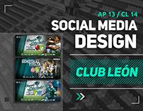 Club León / Social Media Design