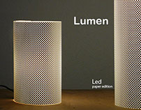 Lumen - Led paper edition