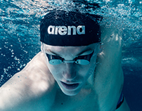 Fashion swimmer Ilya Shimanovich for Sporttime magazine