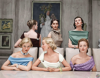 Plunging Necklines of 1949