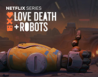 love, Death & Robots. Backgrounds for Blindspot