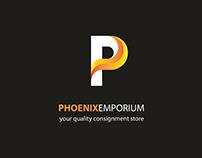 Phoenix Emporium - Logo branding