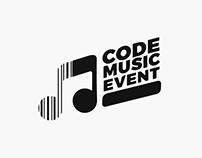 Code Music Event - Logo Design