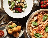 Italian food for IL Molino, Kyiv