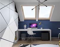 Cosmic Childroom / Interior Design
