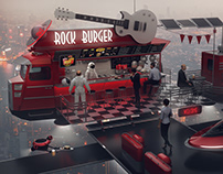 Space Rock Burger