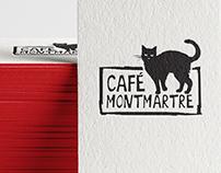 Café Montmartre. Logo & Visual Identity
