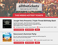 AllTheTickets Email Flyer