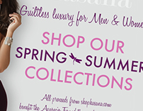 Hasana Jewelery Advertisements/ Website Design