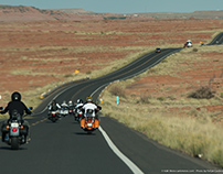 Still Photography - Motorcycle Tour Route 66