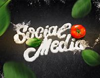 Social Media Mustache | Miguelitos Pizzaria
